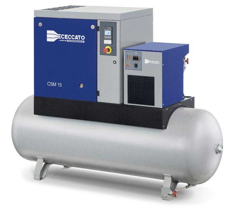 CSM 3-20 HP screw compressors - Ceccato Home Page